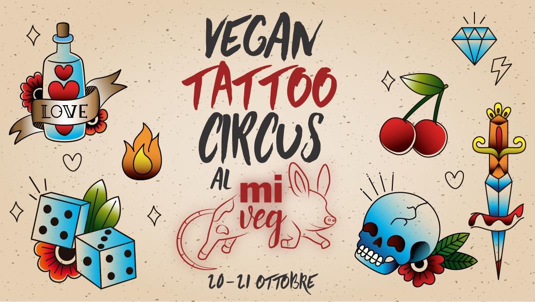 vegan tattoo circus